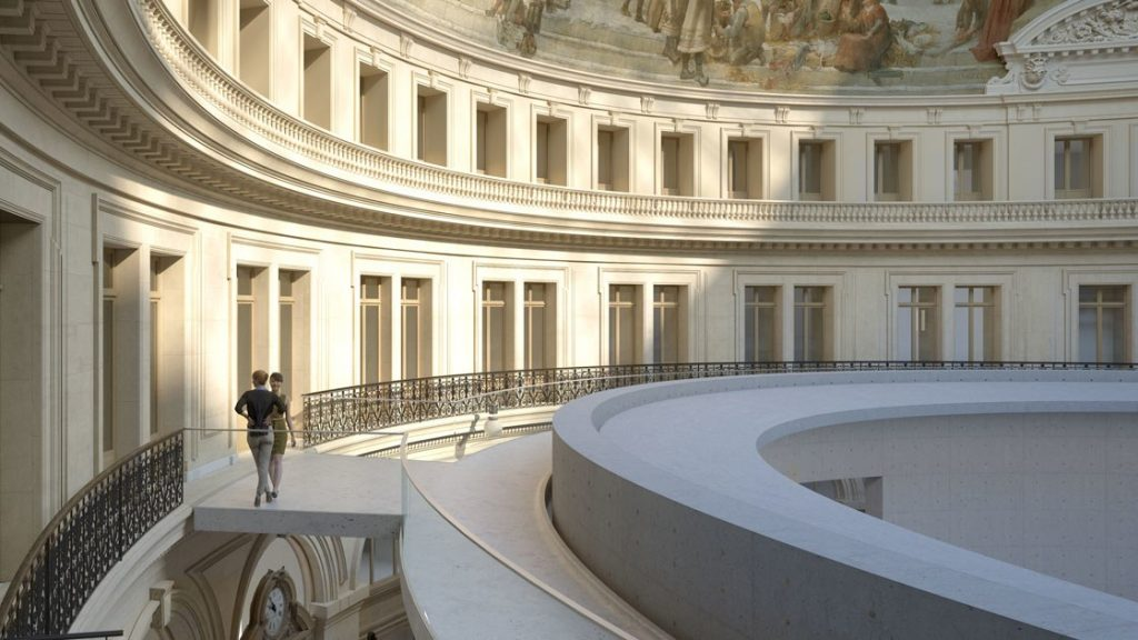 One more private museum in Paris, once more by the same architect