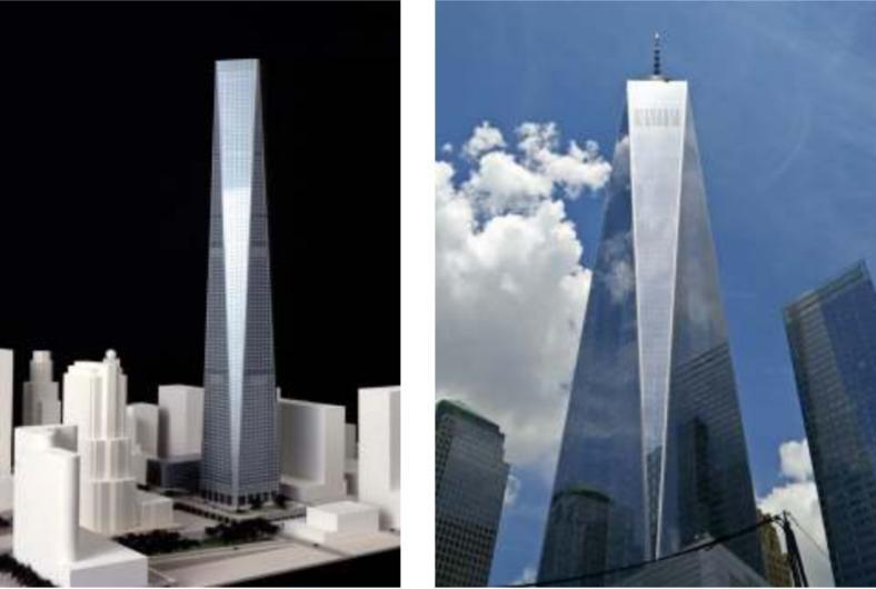 No, SOM didn't copy One World Trade Center